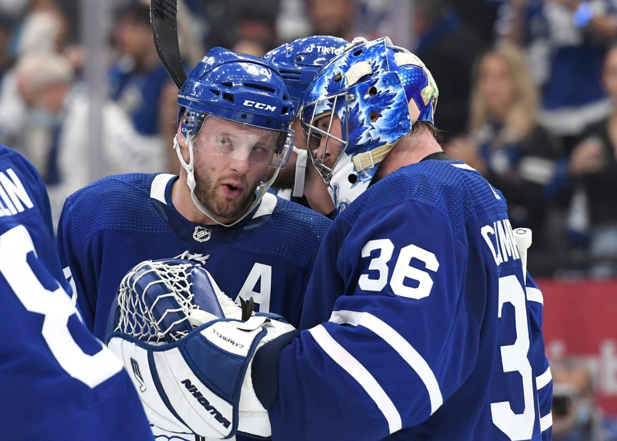 Maple Leafs' Campbell Finds Some Redemption in Victory Against Canadiens