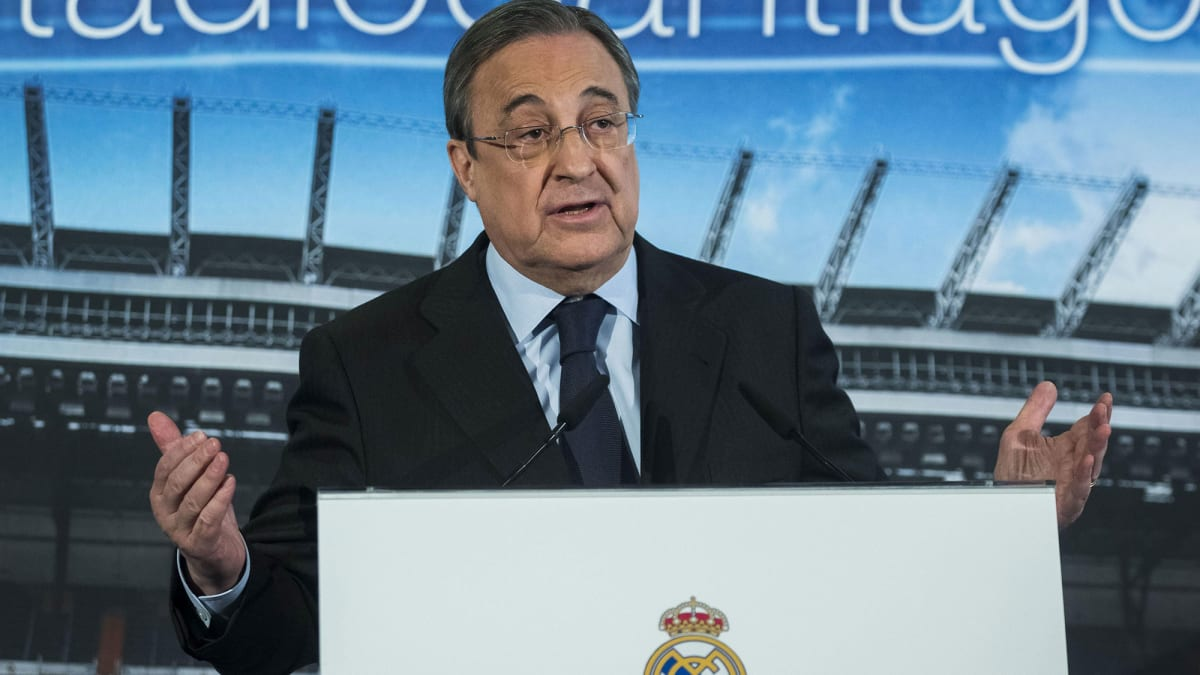 Florentino Pérez and the Super League Spin Zone