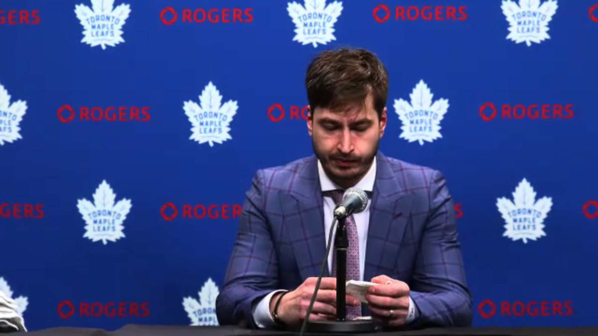 Maple Leafs' David Rittich: 'I'm Taking Full Responsibility For The Game'