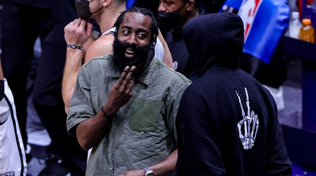 Nets' James Harden May Be Out Until Postseason