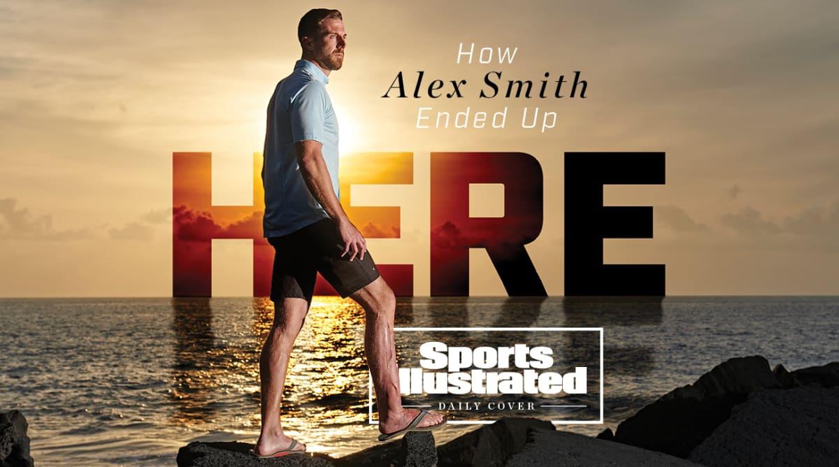 Alex Smith Healed Enough to Walk Away