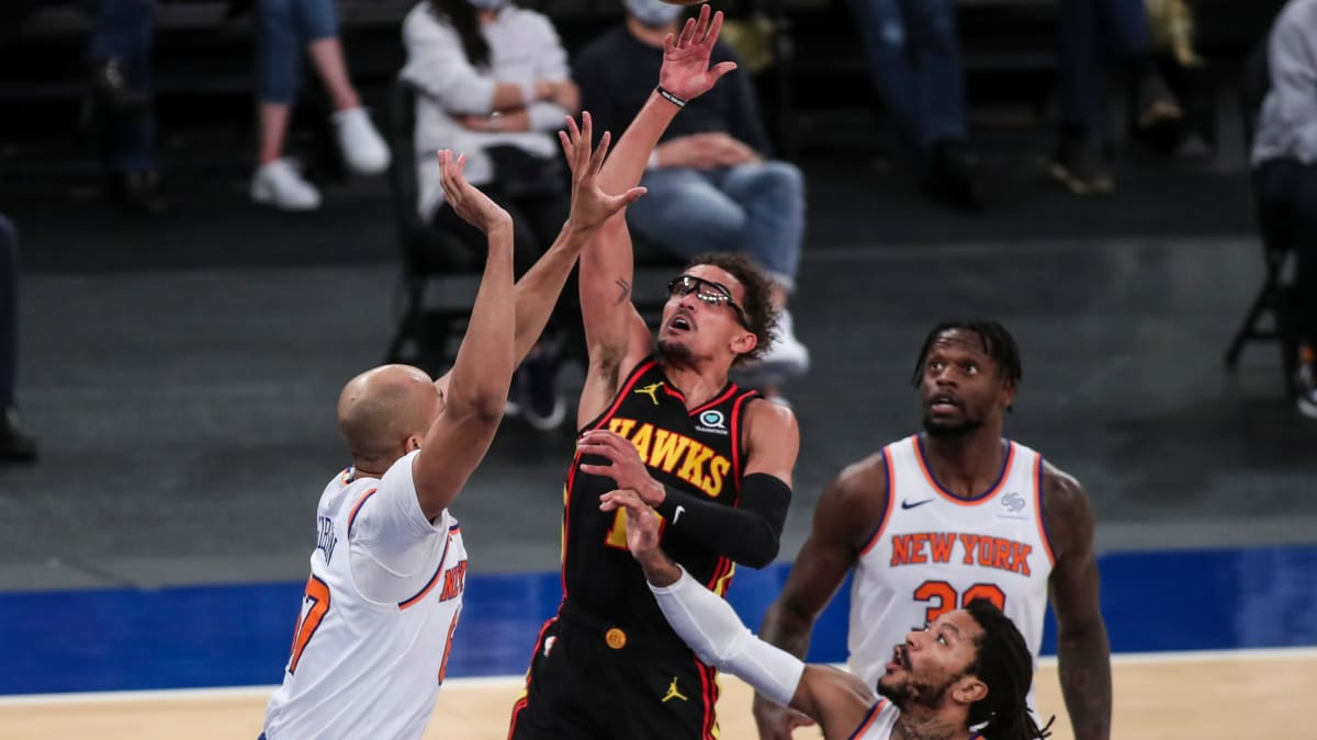 Report: Hawks' Star Trae Young Diagnosed With Grade 2 Ankle Sprain