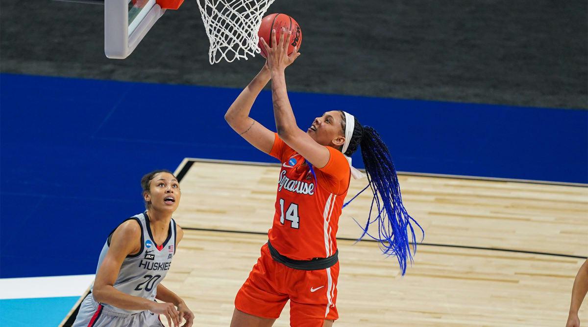 Kamilla Cardoso Becomes 12th Syracuse Women's Basketball Player to Enter Transfer Portal