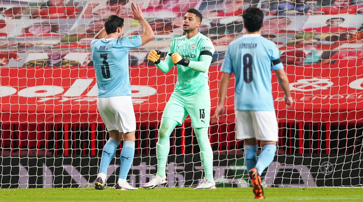 Man City Goalkeeper Zack Steffen Becomes Fourth American to Win League Cup