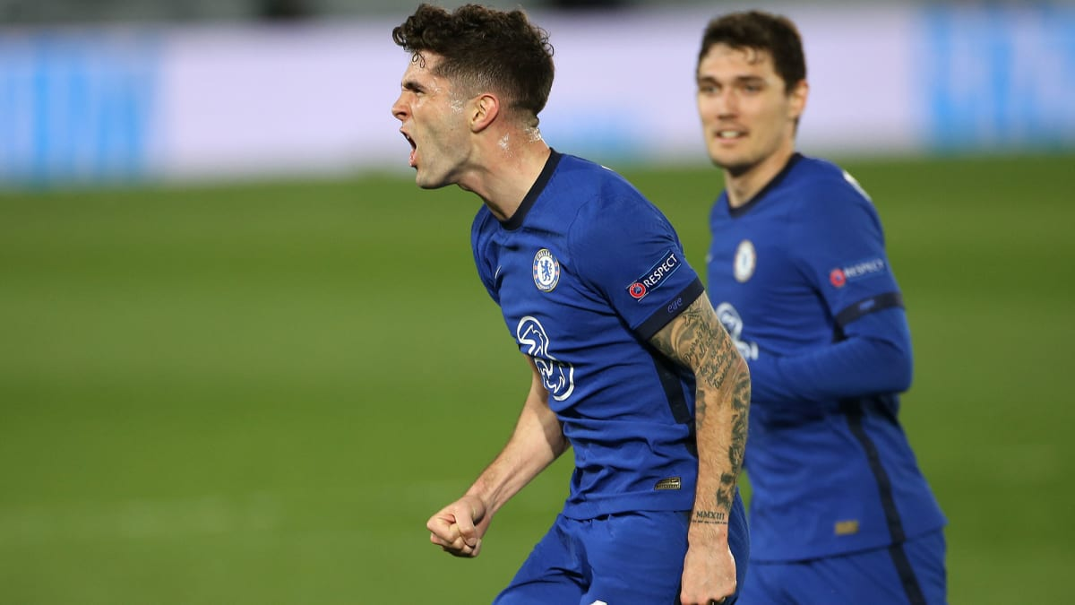 Pulisic Scores vs. Real Madrid, Becomes Third USMNT Player to Feature in UCL Semifinals