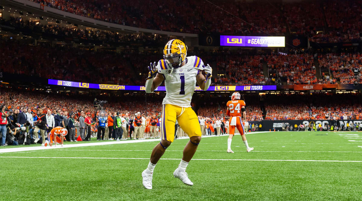 Ja'Marr Chase Heads to Bengals After Being Drafted No. 5