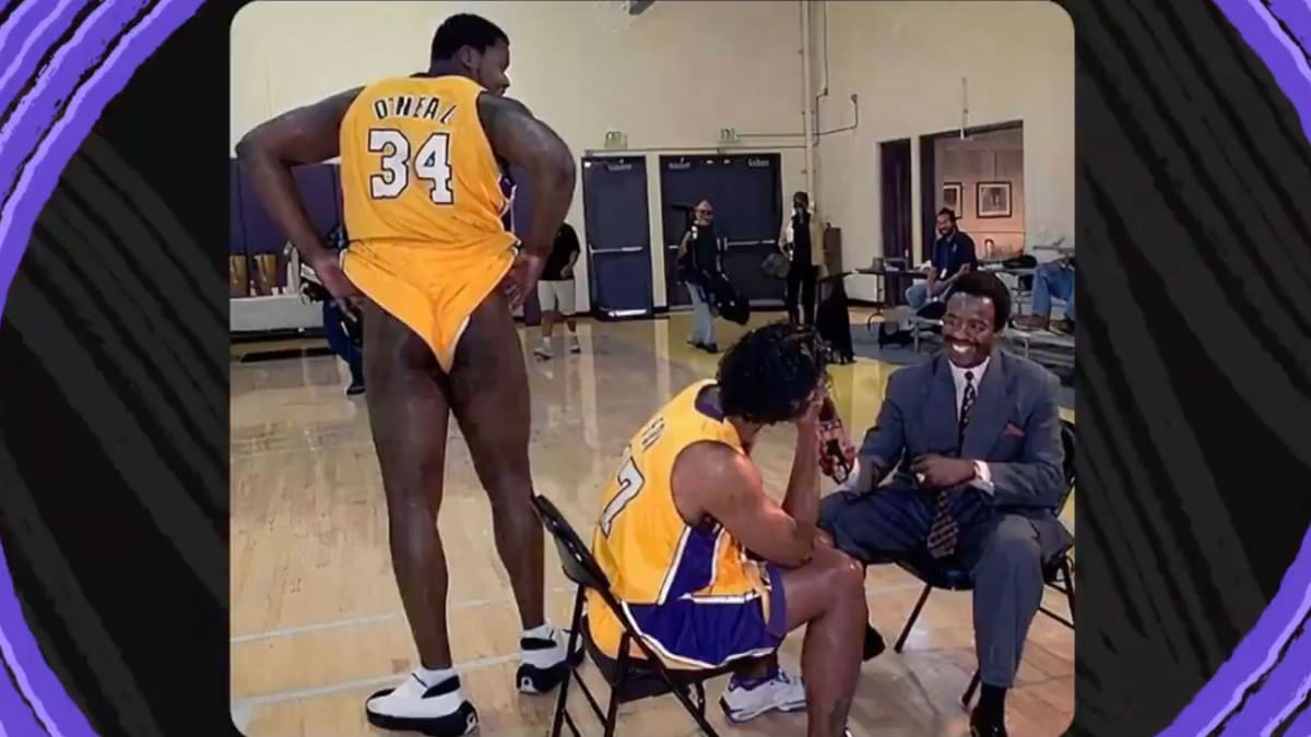 'That Looks Like a Well-Done Steak.' Shaq's Bare Bottom Provides Fodder for 'Inside the NBA' Crew: TRAINA THOUGHTS