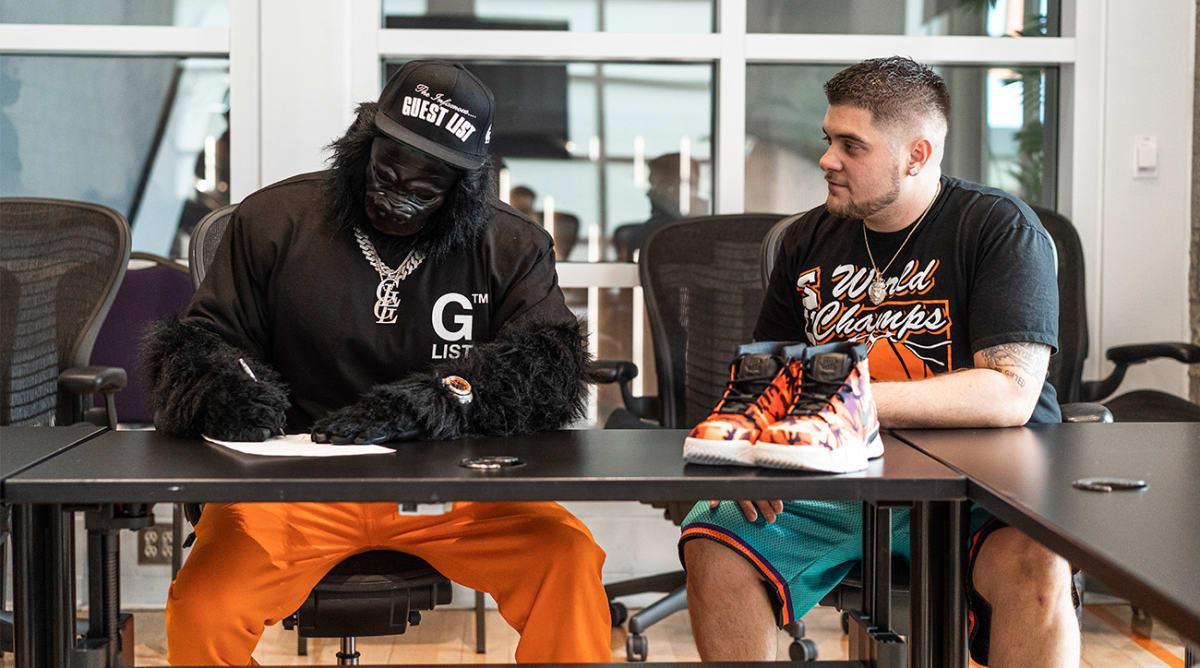 Suns' Gorilla Signs First-Ever Mascot Apparel Endorsement Deal