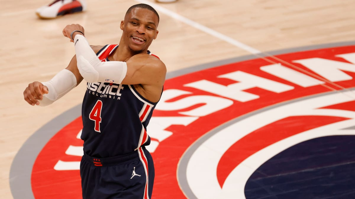 Russell Westbrook Clinches Fourth Season-Long Triple Double Average