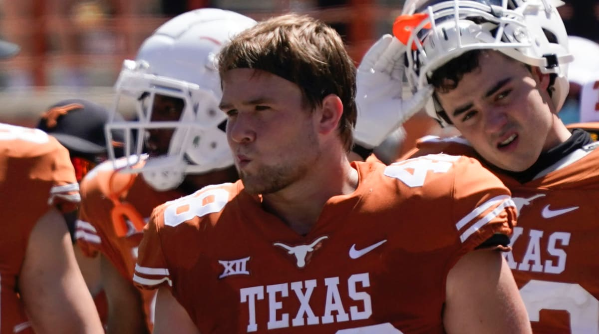 Report: Texas LB Jake Ehlinger Found Dead, Death Not Considered Suspicious