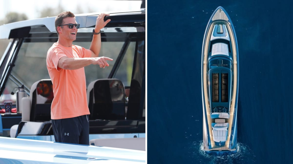 Tom Brady Buys $6 Million Yacht, an Upgrade From the $2 Million Dinghy He Drove in Super Bowl Parade