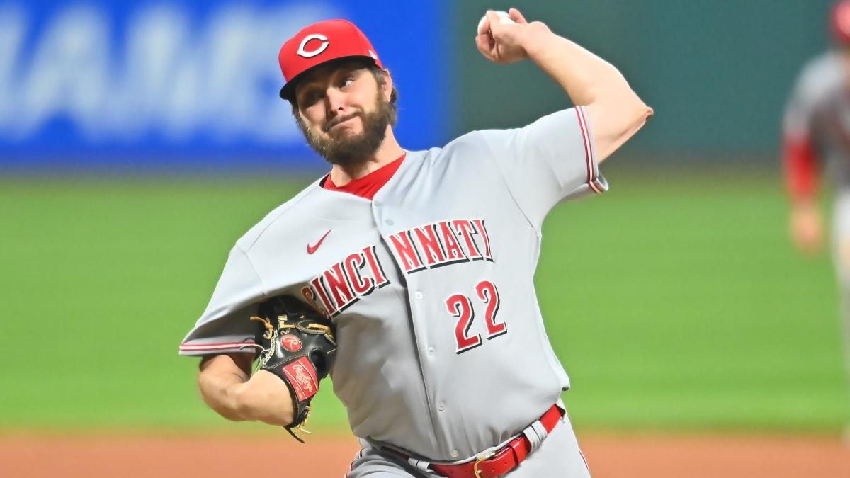 Reds' Wade Miley Throws Fourth No-Hitter of MLB Season