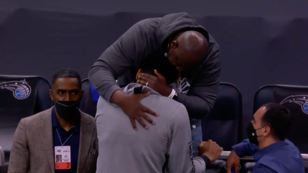 Karl-Anthony Towns Shares Emotional Embrace With His Father Before Mother's Day Game