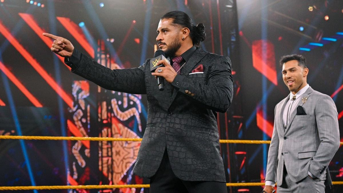Q&A: Santos Escobar on Losing the NXT Cruiserweight Title and His Goals in WWE