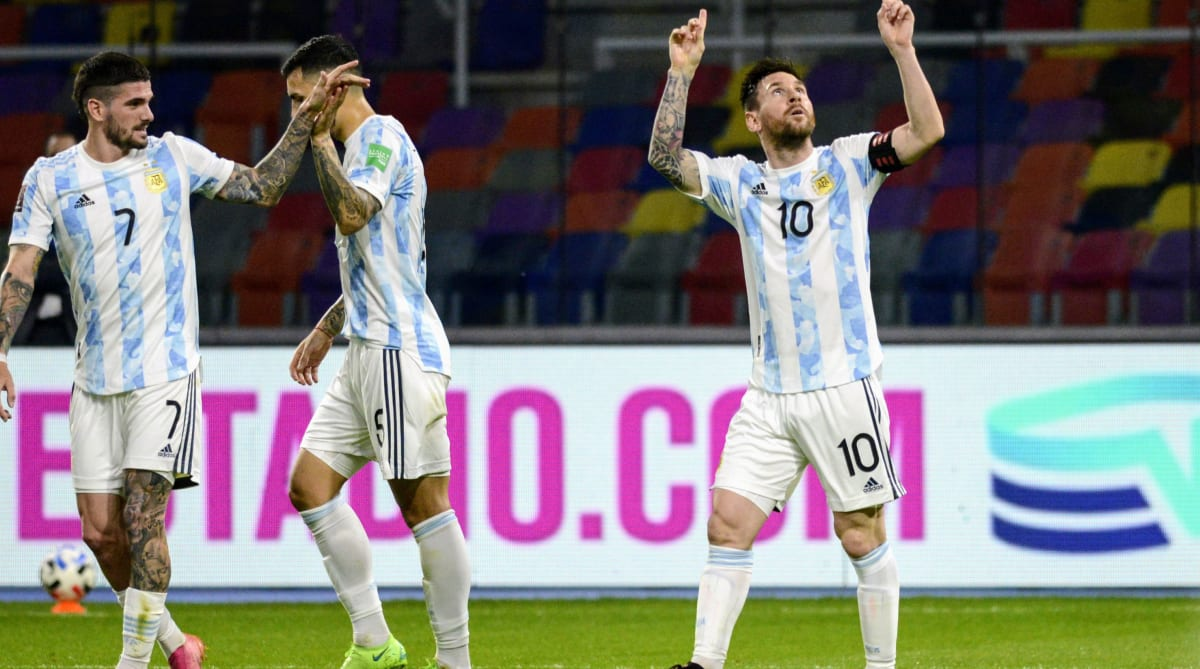 Colombia vs. Argentina Live Stream: Watch World Cup Qualifying Online, Time, Lineups