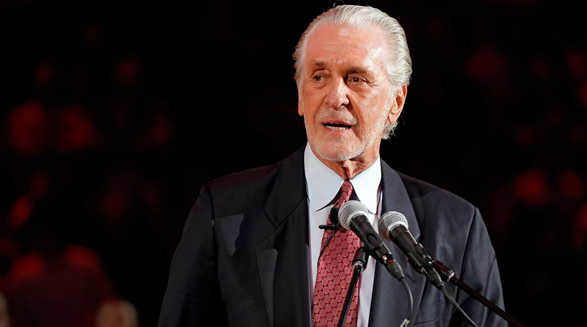Pat Riley Fined $25,000 for Tampering Violation After LeBron James Comments