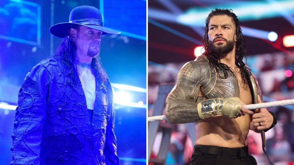 The Undertaker Praises Roman Reigns's Work as Champion: 'I Think He's a Great Heel'