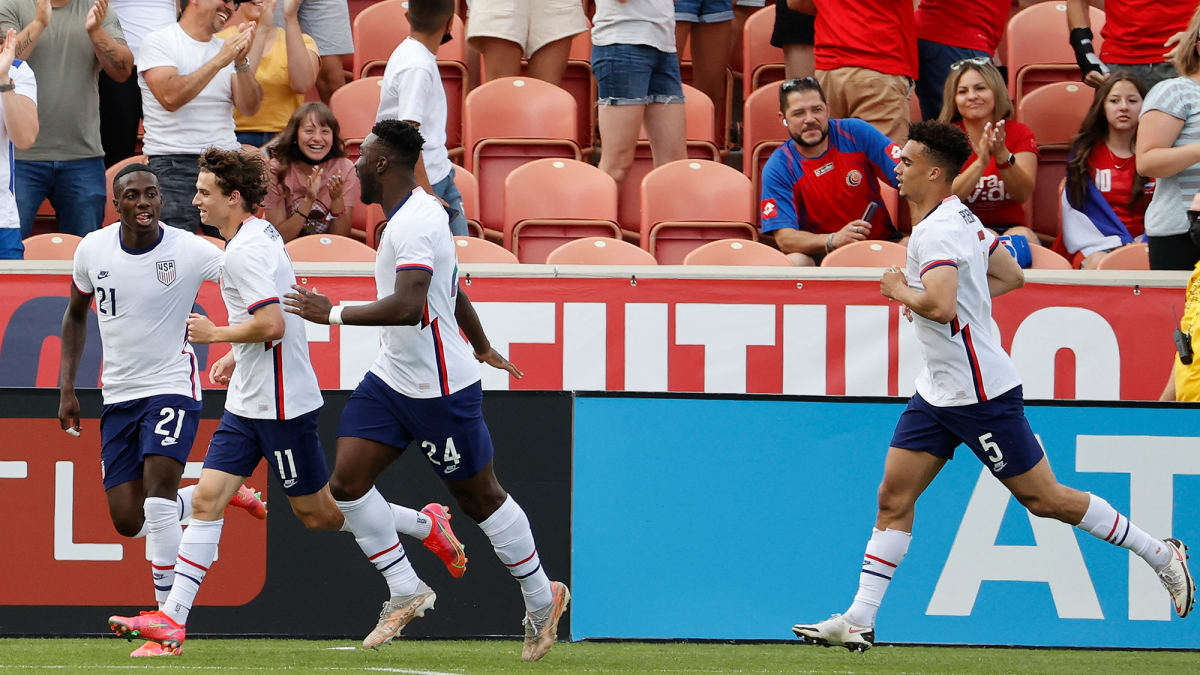 No Letdown for USMNT in Camp-Closing Rout of Costa Rica