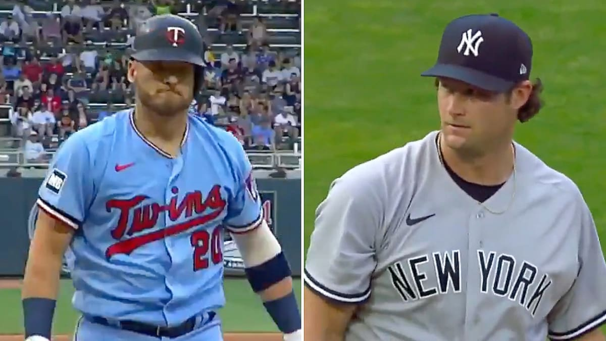 Gerrit Cole Stared Down Josh Donaldson After Getting Revenge With Two Strikeouts