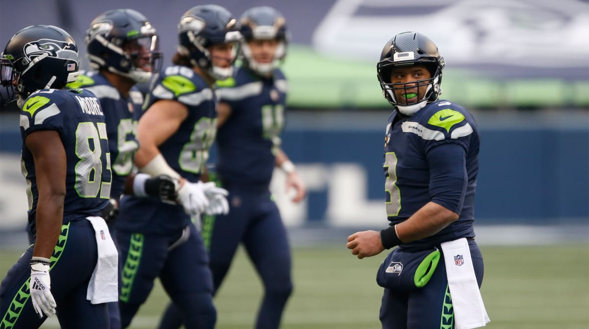Russell Wilson Denies Requesting Trade, Reaffirms He's Fully Committed to Seattle
