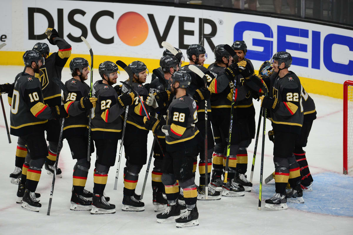 Golden Knights Send Top-Seed Avalanche Home Early