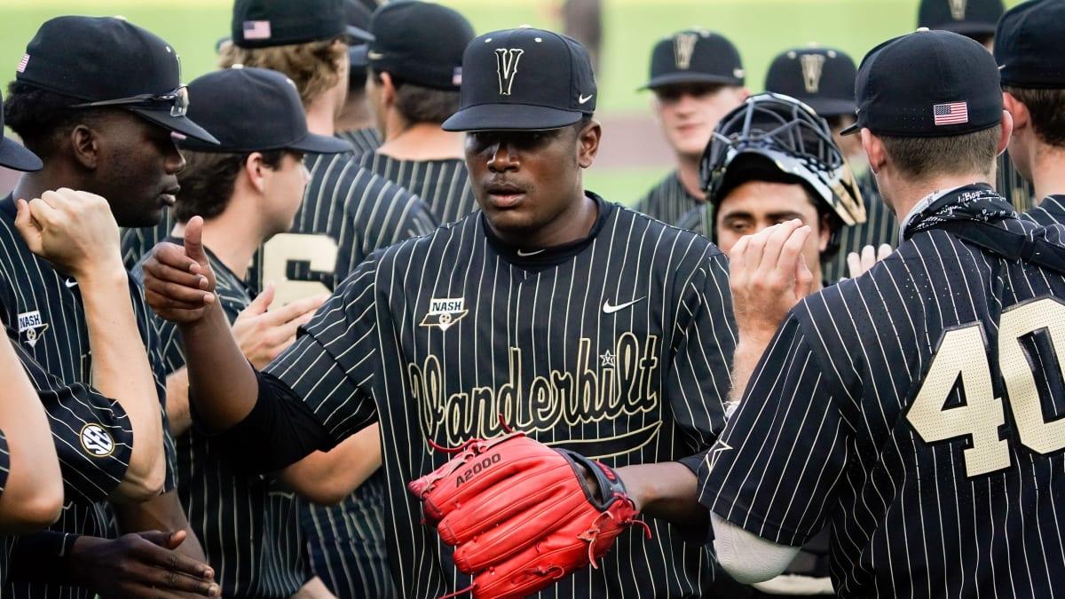 Kumar Rocker Strikes Out 11 in Final Vanderbilt Home Start