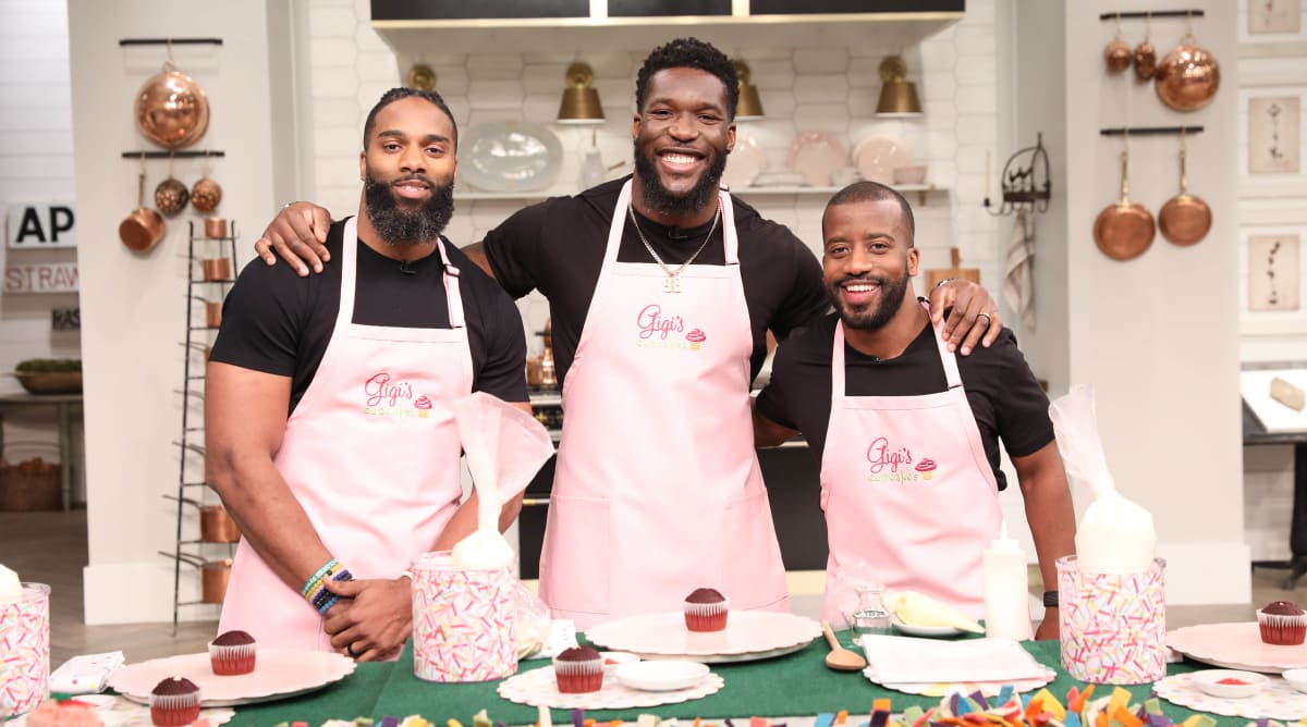 How Two NFL Pro Bowlers Became The Cupcake Guys