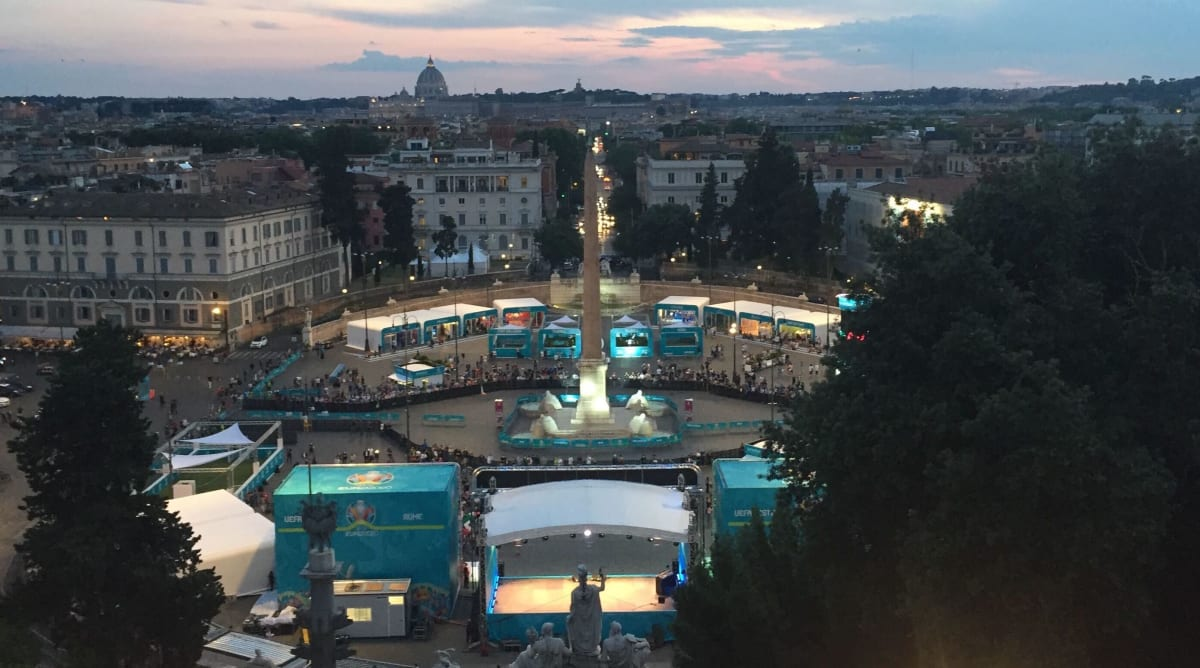 Rome's Restricted Re-Opening for Euro 2020 Helps Italy Begin to Heal
