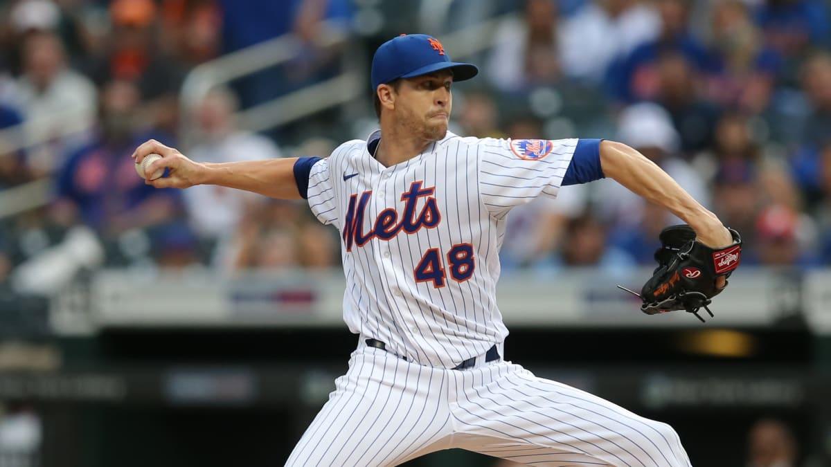 Mets Ace Jacob deGrom Leaves Start With Right Flexor Tendinitis