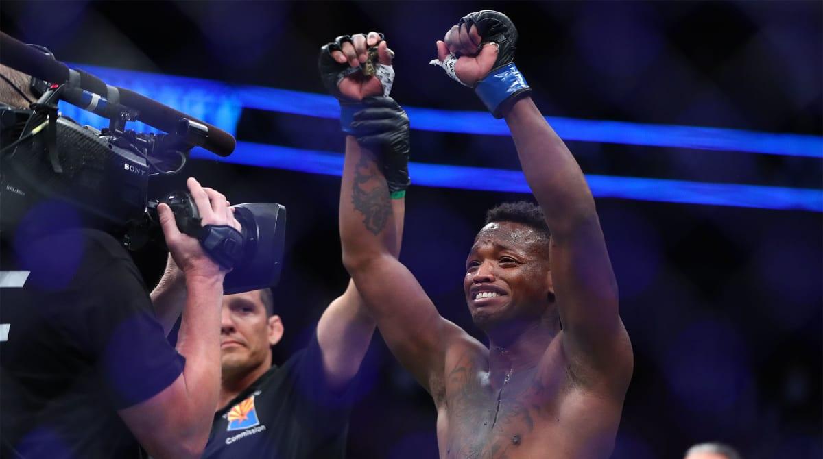 Terrance McKinney Injures Knee Celebrating His Historic Seven Second KO in UFC Debut