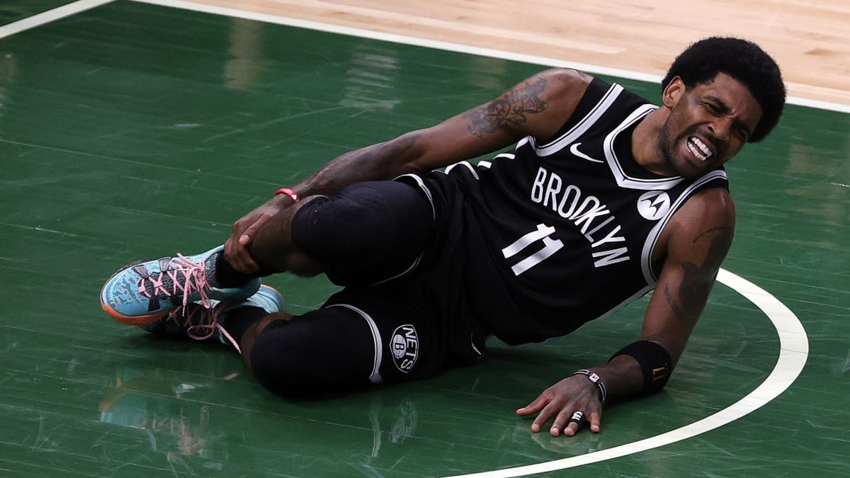 Kyrie Irving to Miss Game 5 vs. Bucks With Ankle Sprain