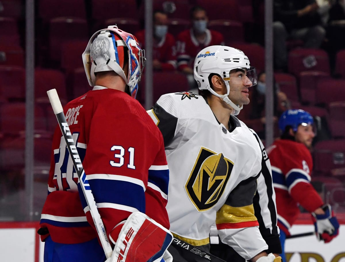 Vegas' Big Guns Nowhere to be Found Against Montreal