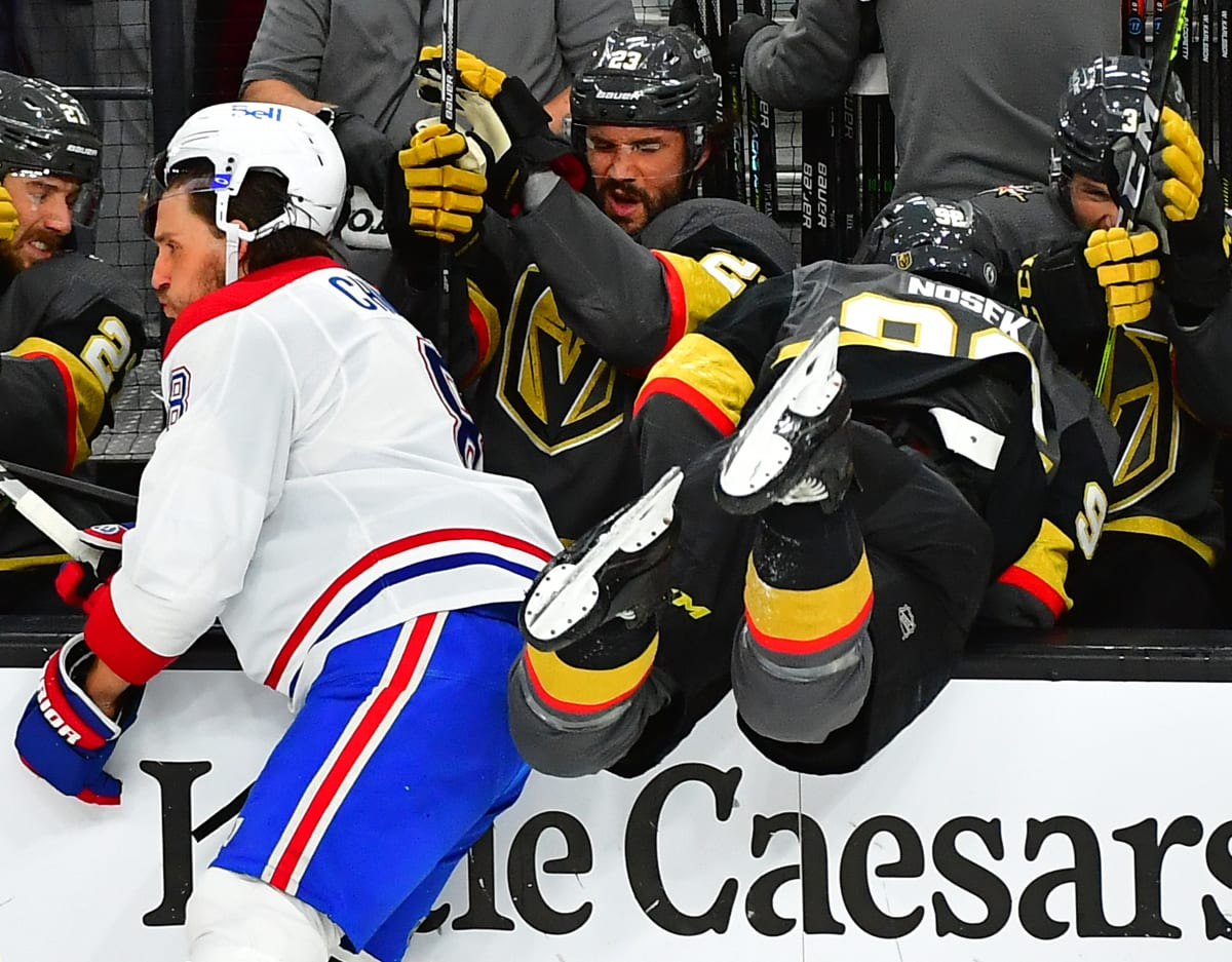 With Series Lead, Canadiens Frustrating Golden Knights