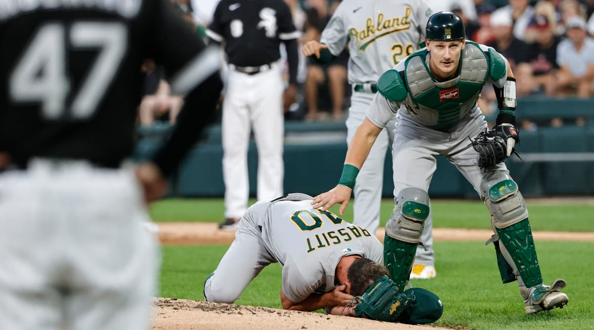 A's Pitcher Chris Bassitt Released From Hospital With Cheek Fracture After Being Hit By Line Drive