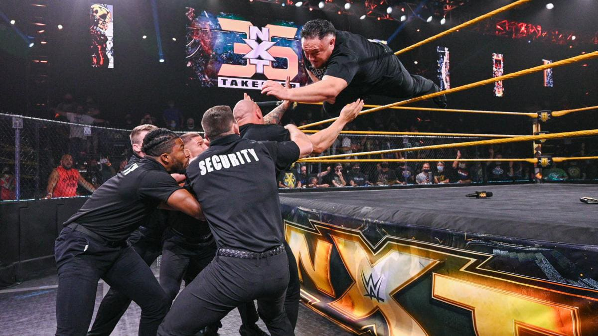 Samoa Joe on the Verge of Long-Awaited Return to the Ring at 'NXT TakeOver 36'