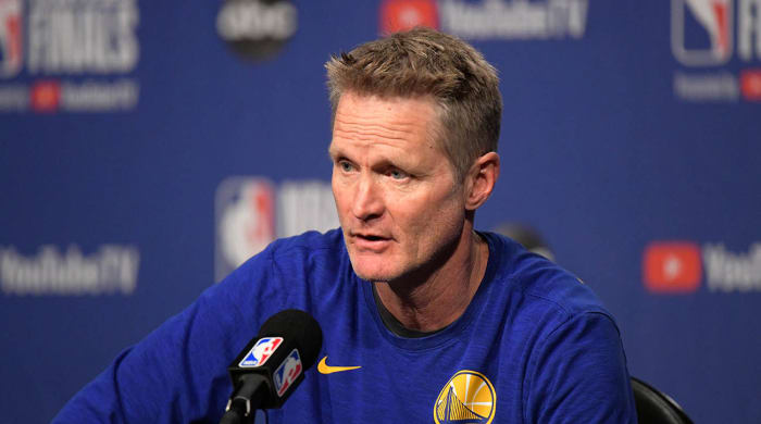 Steve Kerr was surprised to be called out by Donald Trump - Sports Illustrated