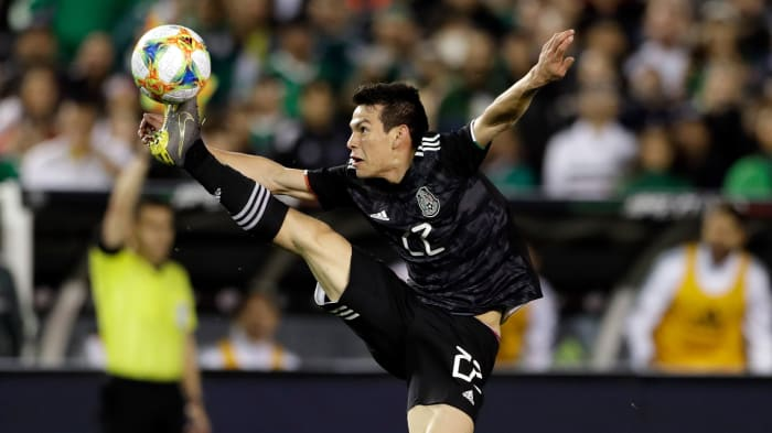 Hirving Lozano Earns Goal, Assist as Mexico Routs Bermuda in Nations League Opener
