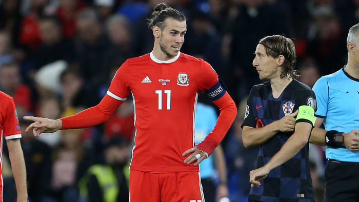 Real Madrid's Modric, Bale Hurt in Croatia's Draw vs. Wales