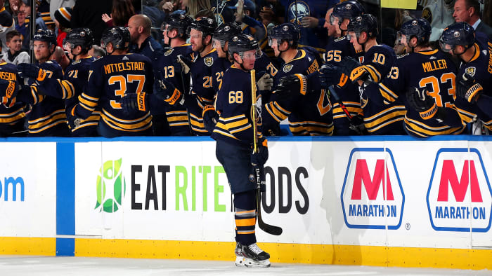 Sabres Rookie Victor Olofsson Sets NHL Power-Play Goal Record