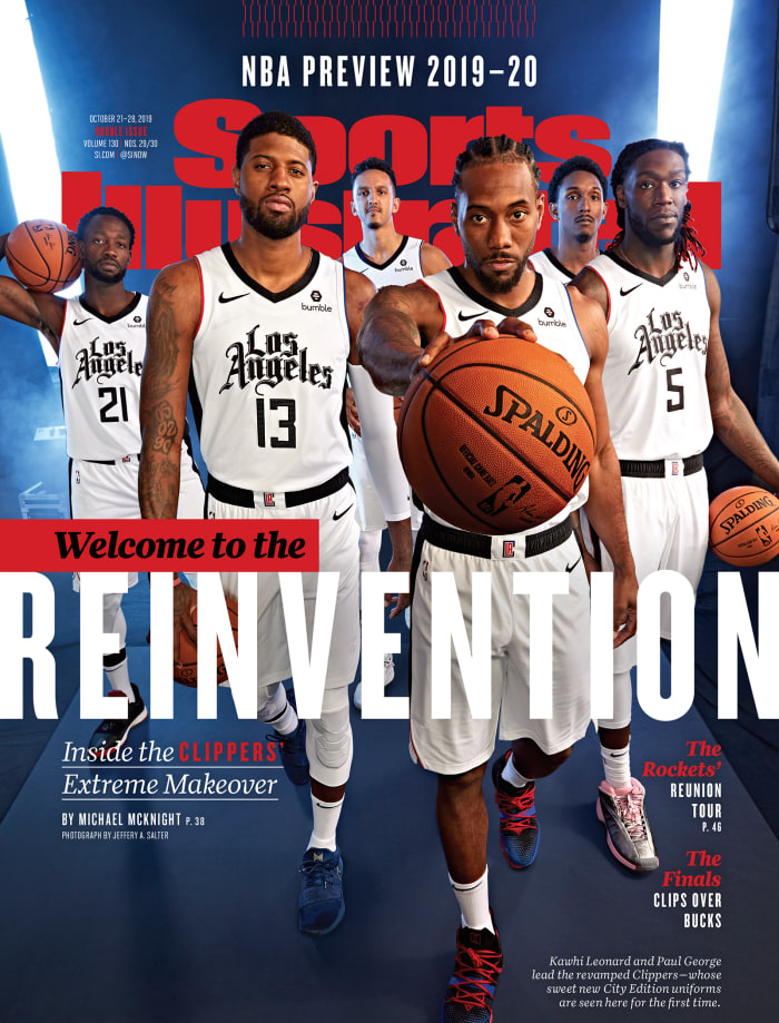 debut Clippers cover