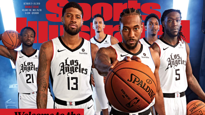 Clippers Debut New 'City Edition' Jerseys on SI Cover