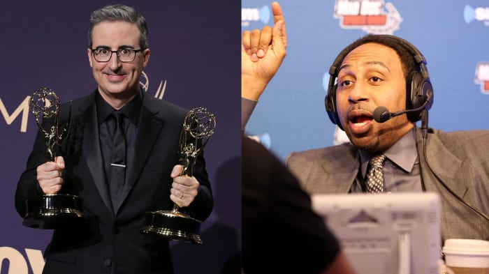John Oliver Goes In on Stephen A. Smith: Traina Thoughts