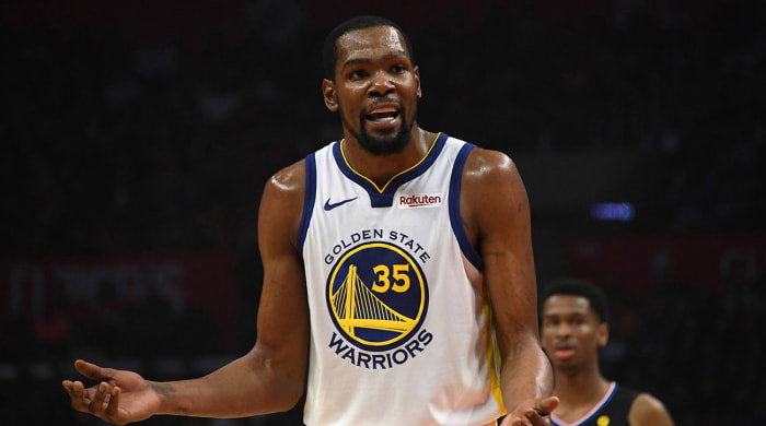 Kevin Durant's Official Height Now Listed as 6'9 1/2""