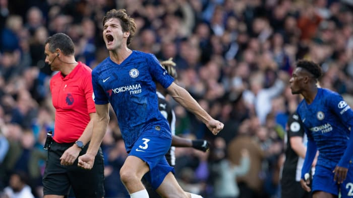 Marcos Alonso Earns Win for Chelsea Against Newcastle
