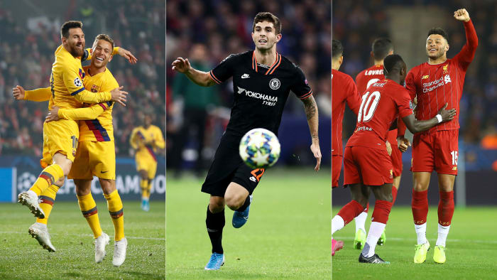 Liverpool Ends Road Woes, Pulisic Sparks Chelsea in Champions League