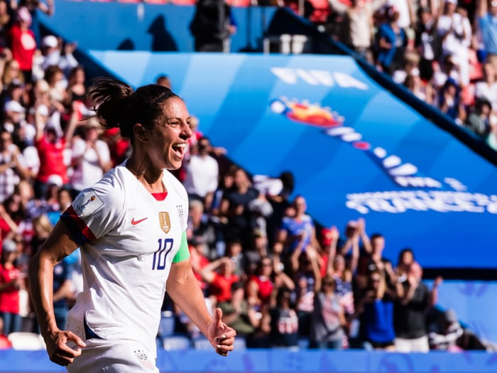 Carli Lloyd Has Shown Plenty, But Starting Again Unlikely for USA Star at World Cup