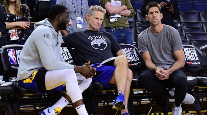 'We All Share In This': Steve Kerr Reflects on the Decision to Play Kevin Durant