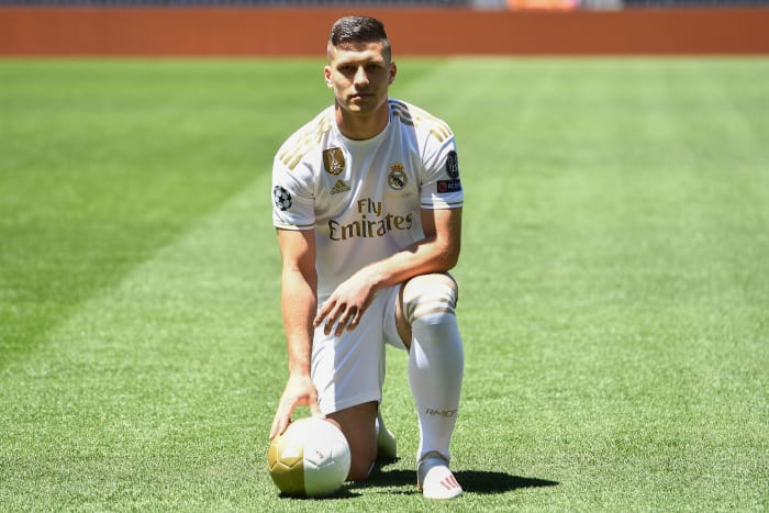 Luka Jovic Insists He's Ready to Step Up at Real Madrid After Testing Start to Life in Spain