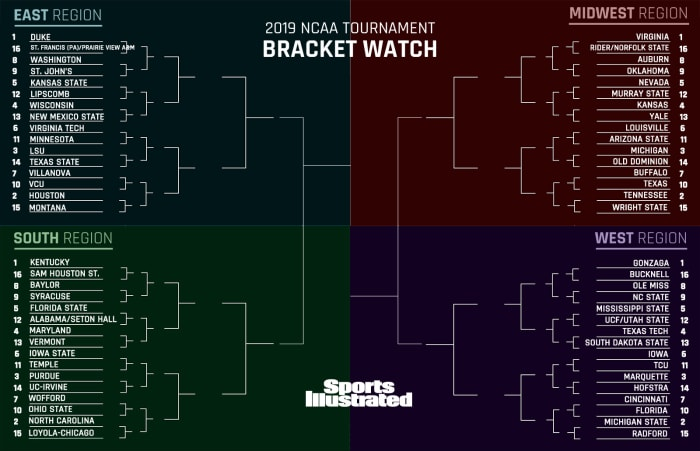 Bracket Watch: Kentucky Moves to the Top Line as Multiple Challengers Loom