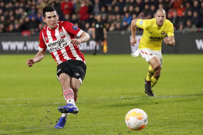 Arsenal 'Increase Interest' in Hirving Lozano as Napoli ...
